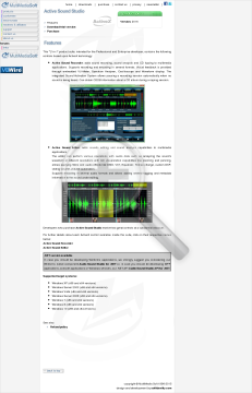 Active Sound Studio Commercial Edition In Bundle With Audio For NET Discount Customers preview. Click for more details
